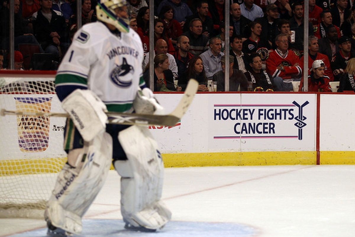 Roberto Luongo S Trade Value Is Lower Than What Idle Speculators