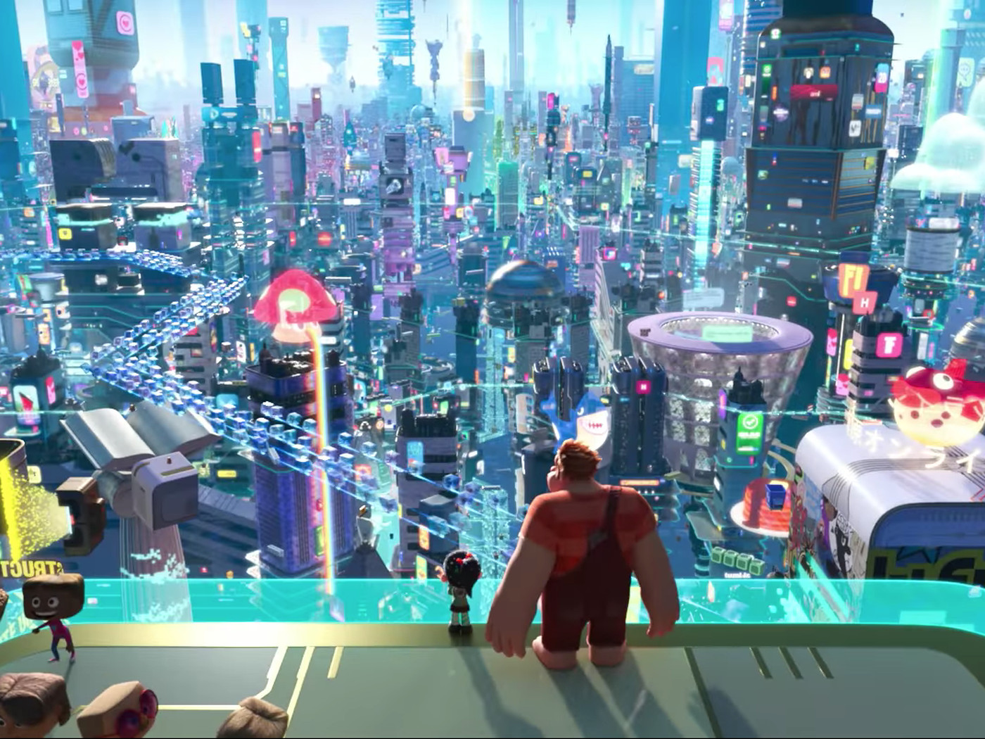 Image result for The latest trailer for Ralph Breaks the Internet Rickrolls us all