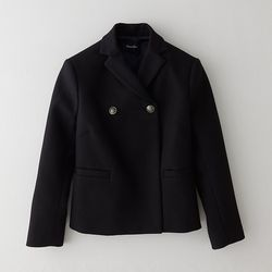 Cropped pea coat, $198 (was $345)