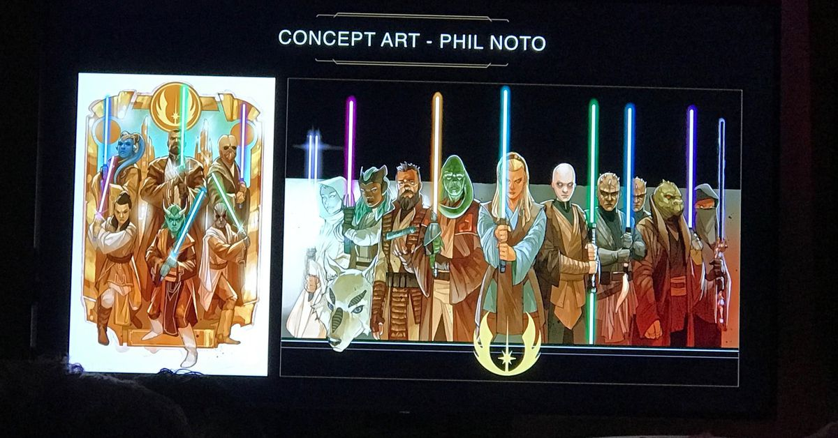 Lucasfilm reveals how secretive Project Luminous will write new Star Wars history
