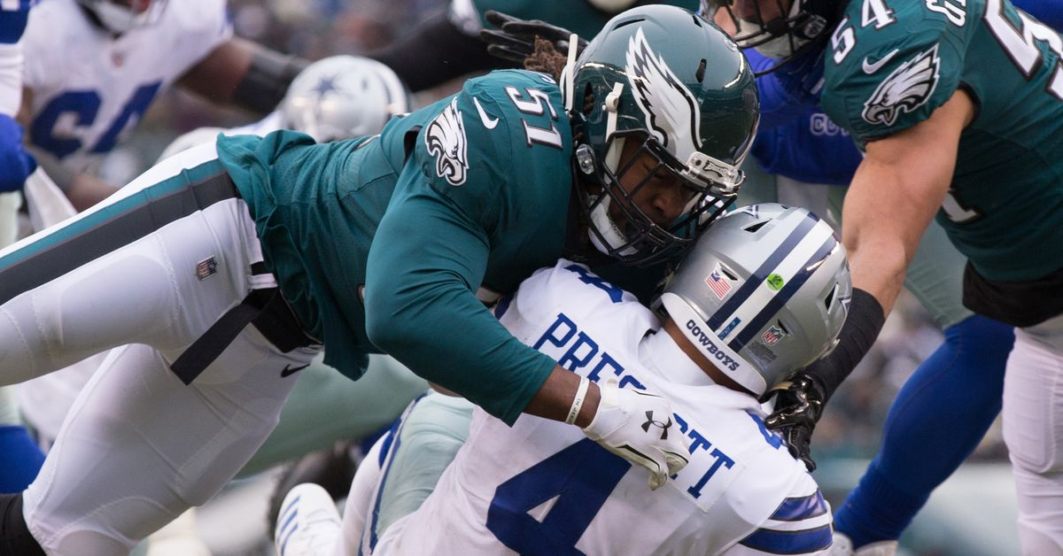 3 numbers that matter for the Eagles' huge NFC East matchup game against the Cowboys
