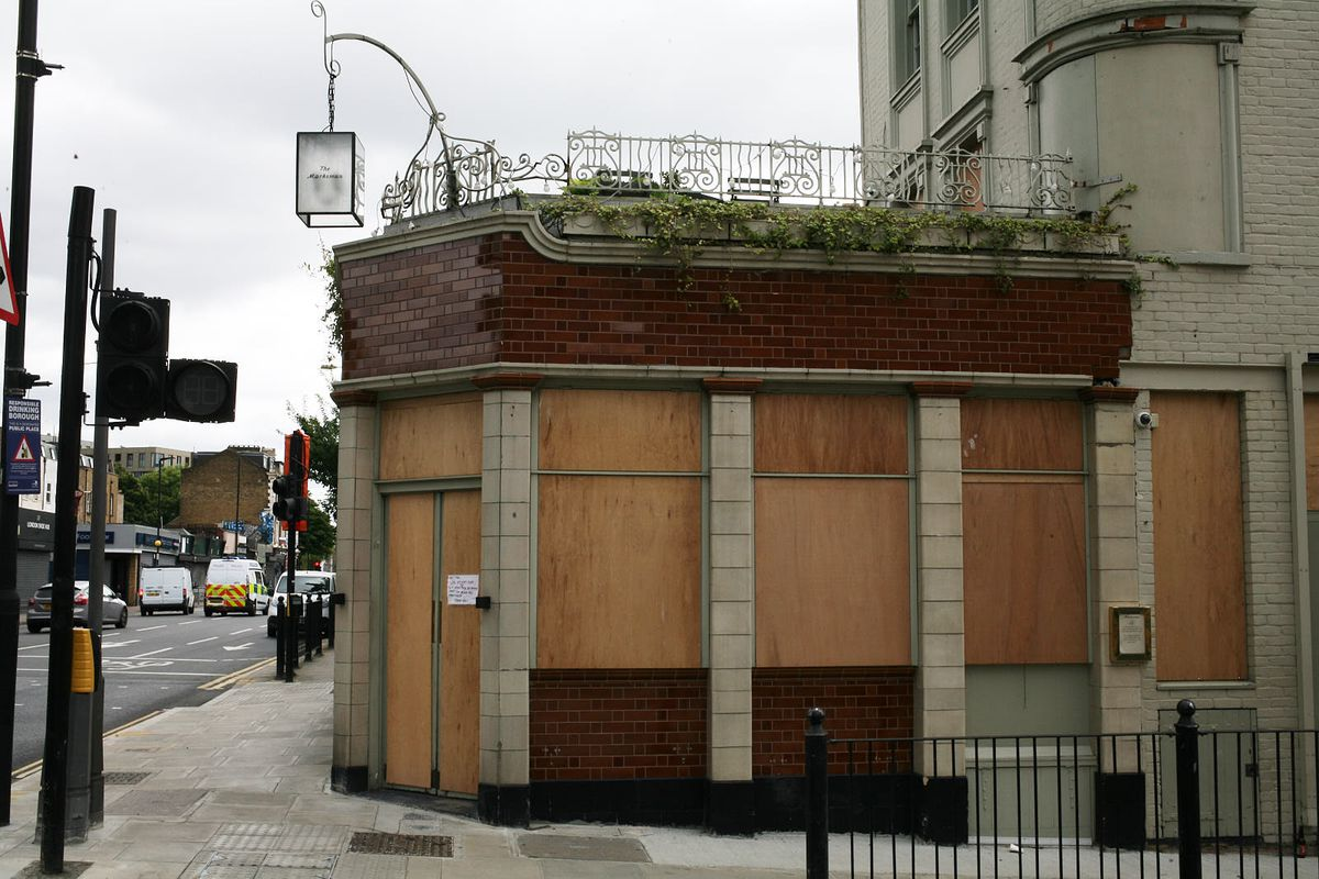 The Marksman in Hackney— one of London's best pubs— remains closed, like many other hospitality businesses in London