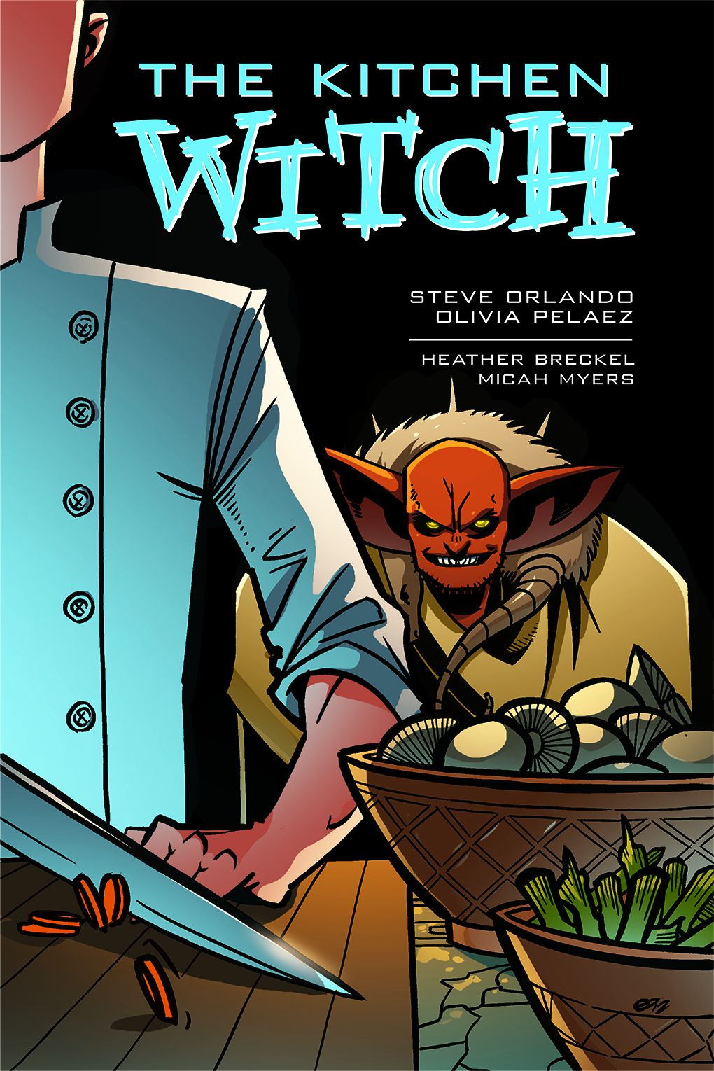 The cover of The Kitchen Witch, 215 Ink (2021).