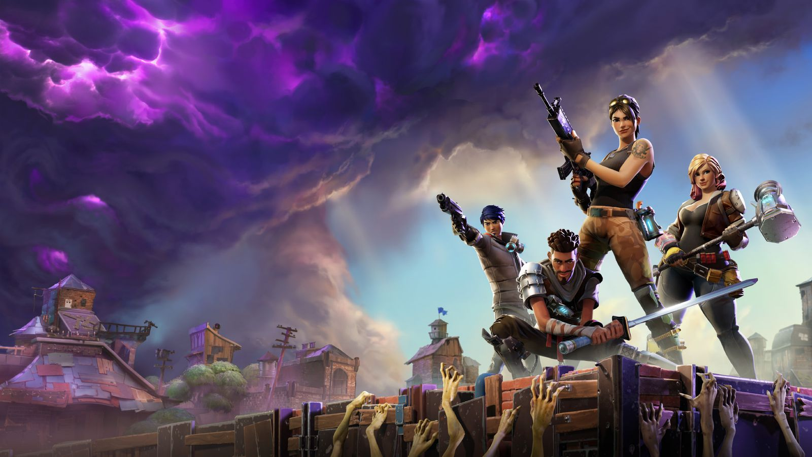 Fortnite announces early access release, hands-on the unfinished game ...