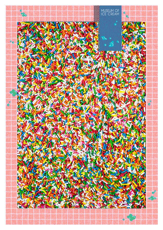 Museum of Ice Cream pool of sprinkles