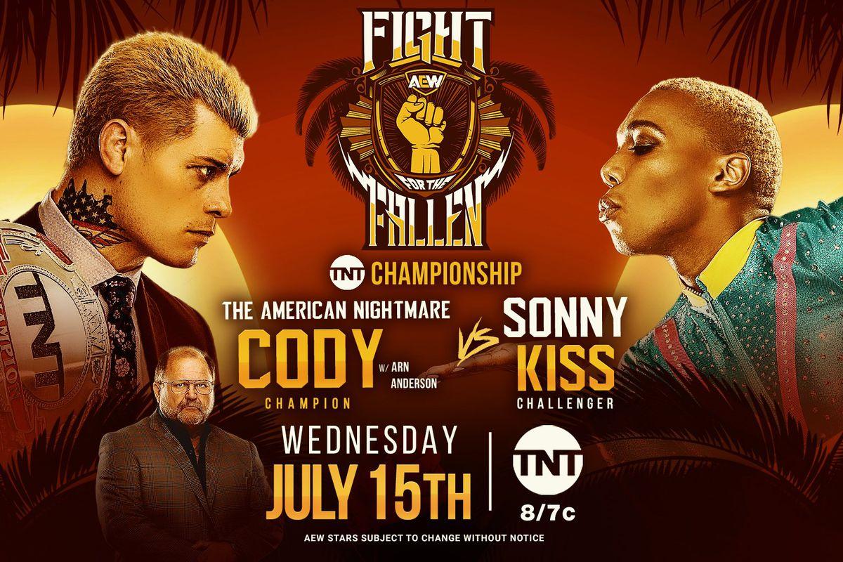 Sonny Kiss, Cody, All Elite Wrestling