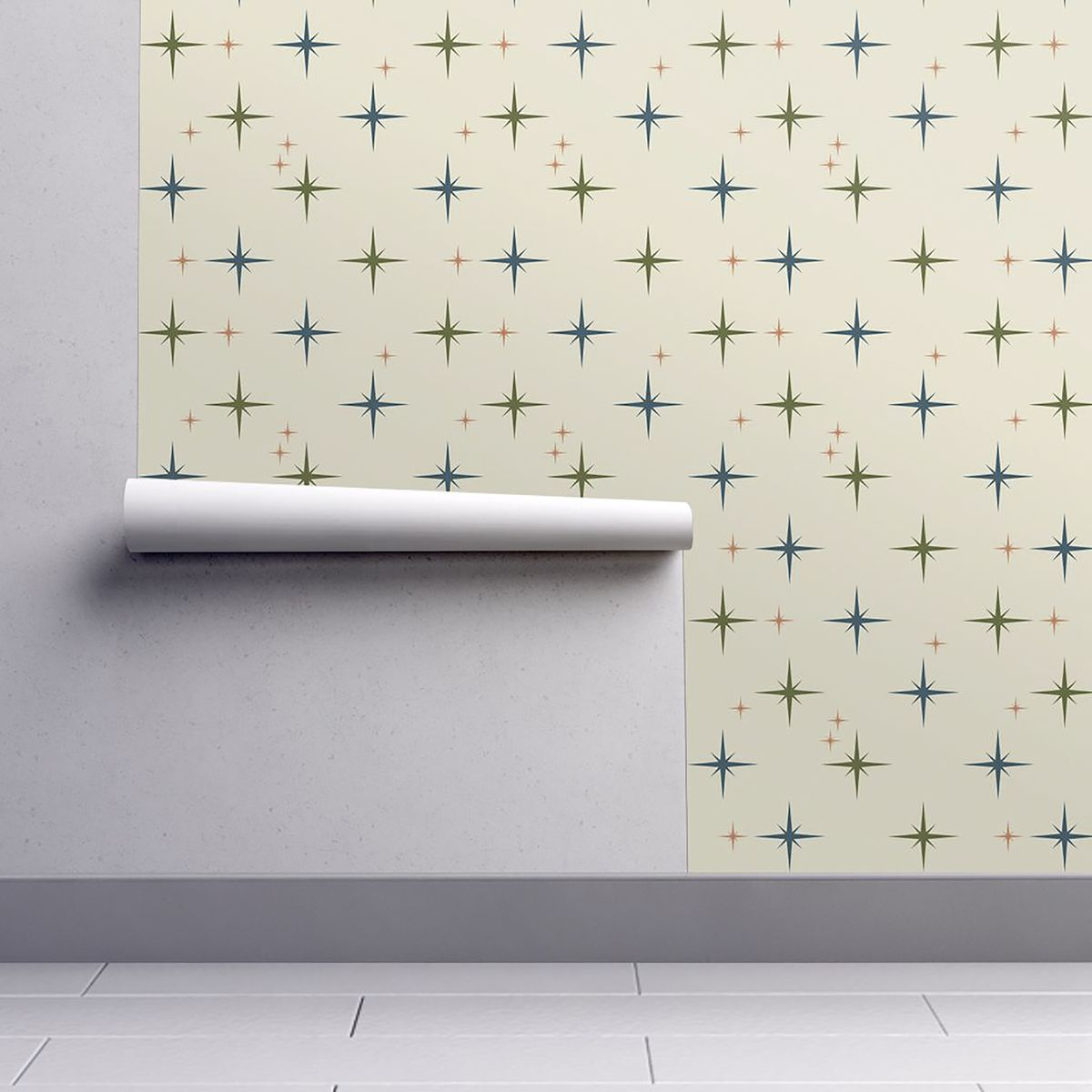 Midcentury Modern Wallpaper Lets You Live Out Your 1950s
