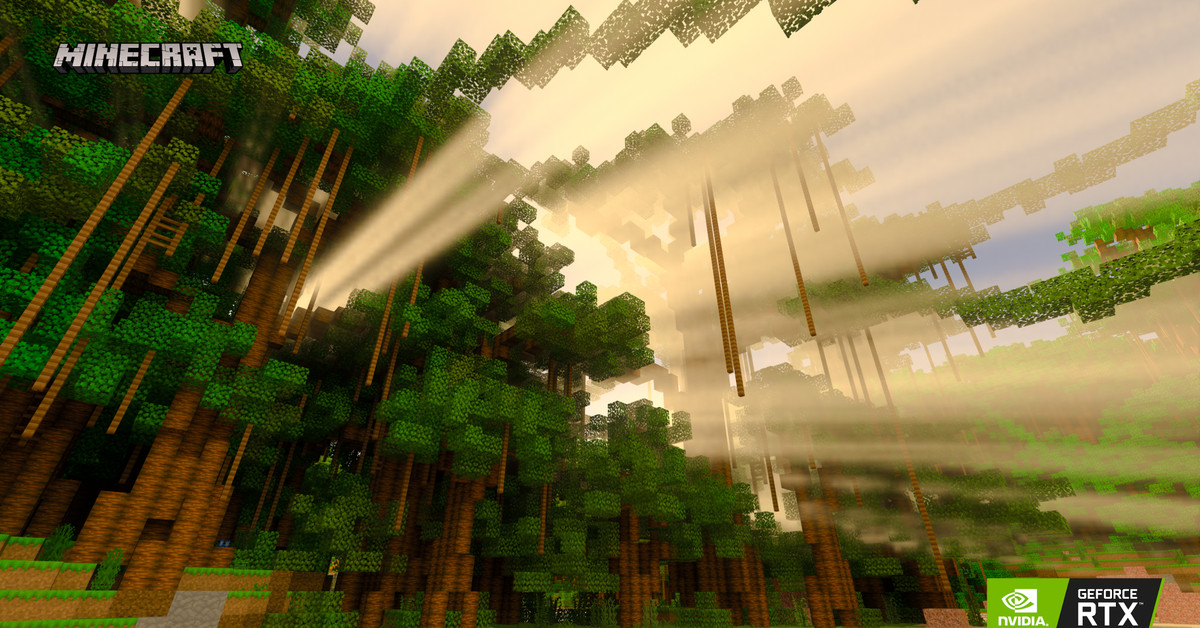 Minecraft S Rtx Powered Ray Tracing Arrives In Beta Later