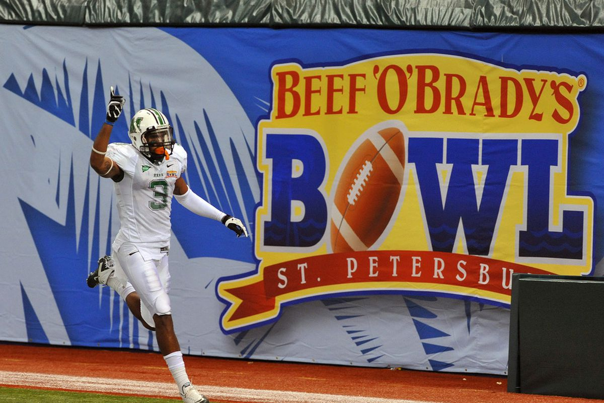 Beef 'O' Brady's Bowl will be back in the AAC lineup after the 2014 season