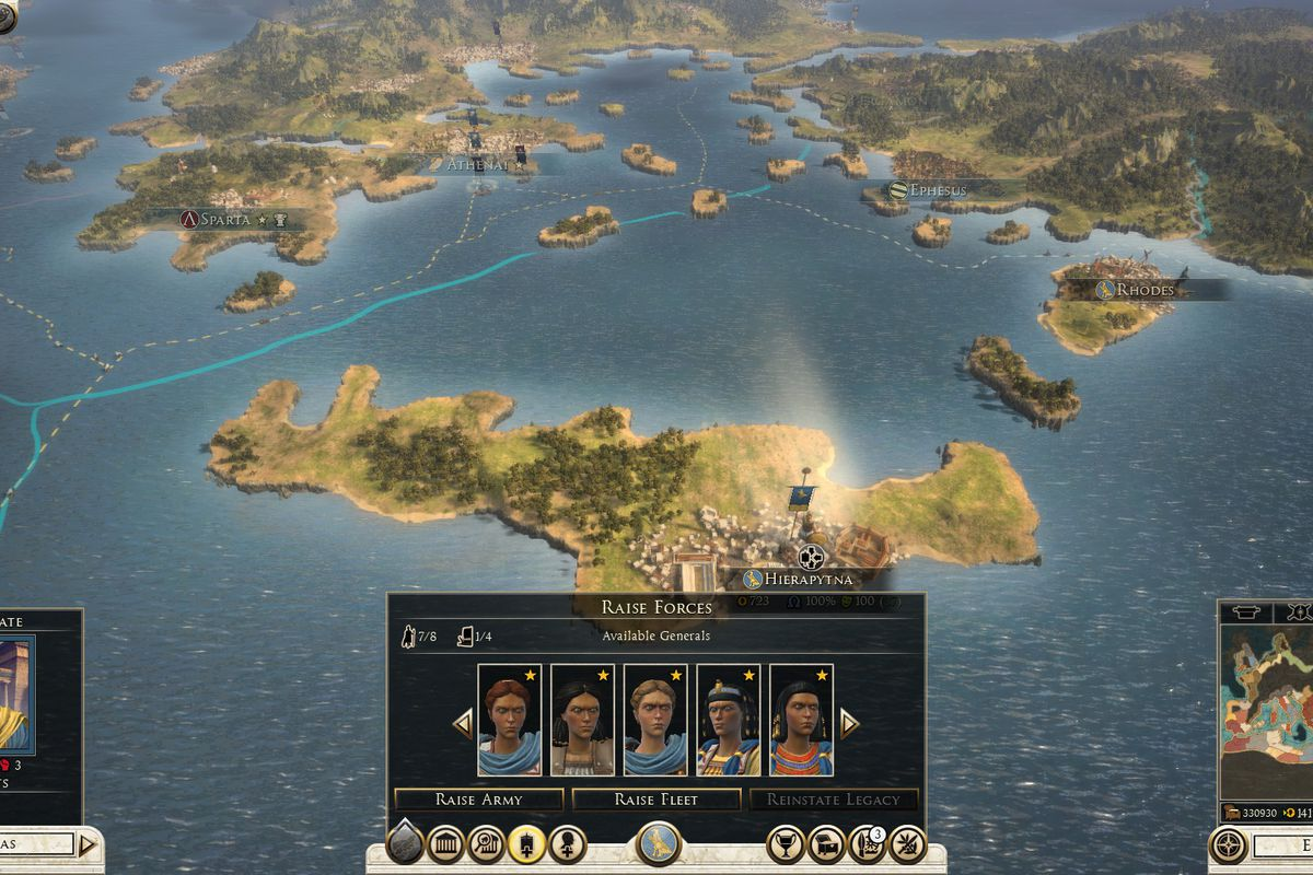 Total War: Rome 2 dev says it won't remove female generals