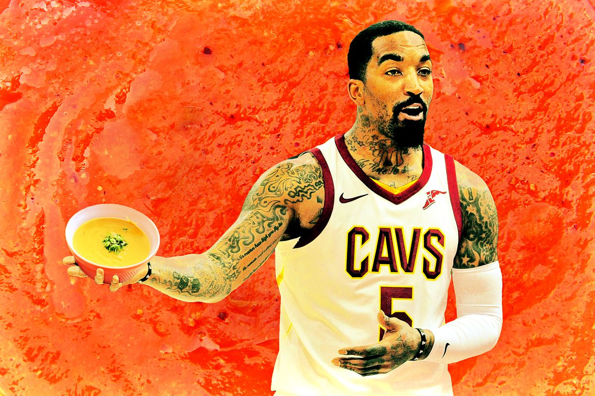 Four Questions About J.R. Smith s Soup-Throwing Scandal - The Ringer 7dcac2706