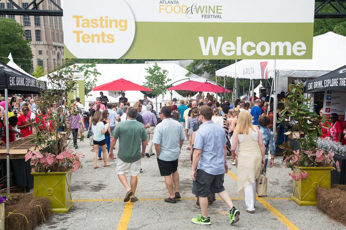 Atlanta Food & Wine Festival 2014.