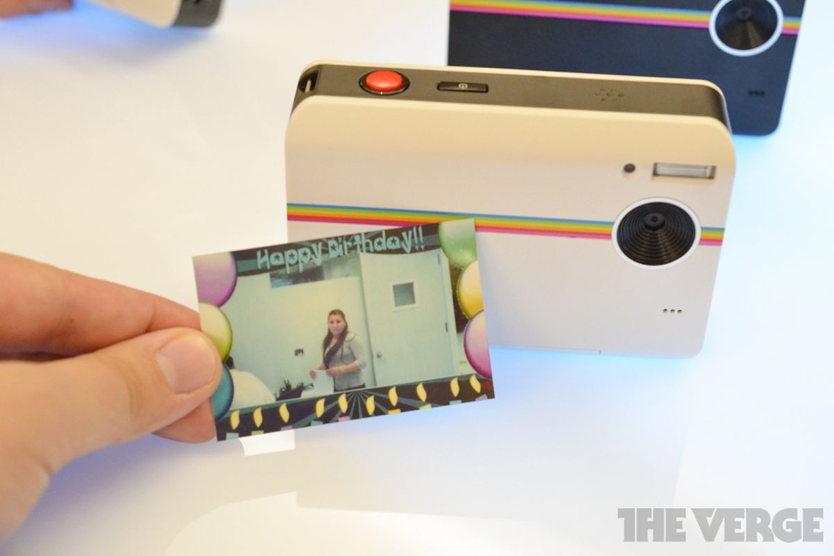 Polaroid Z2300 Instant Digital Camera coming August 15th (hands-on ...