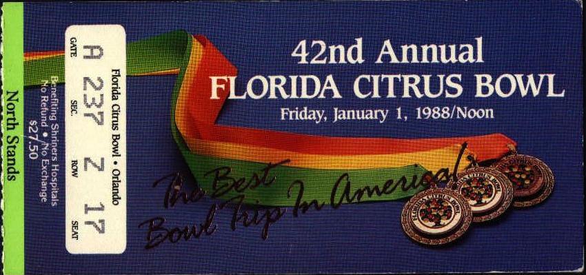 1988 Citrus Bowl
