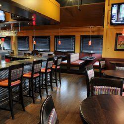 Bar Area at Seafood Shanty