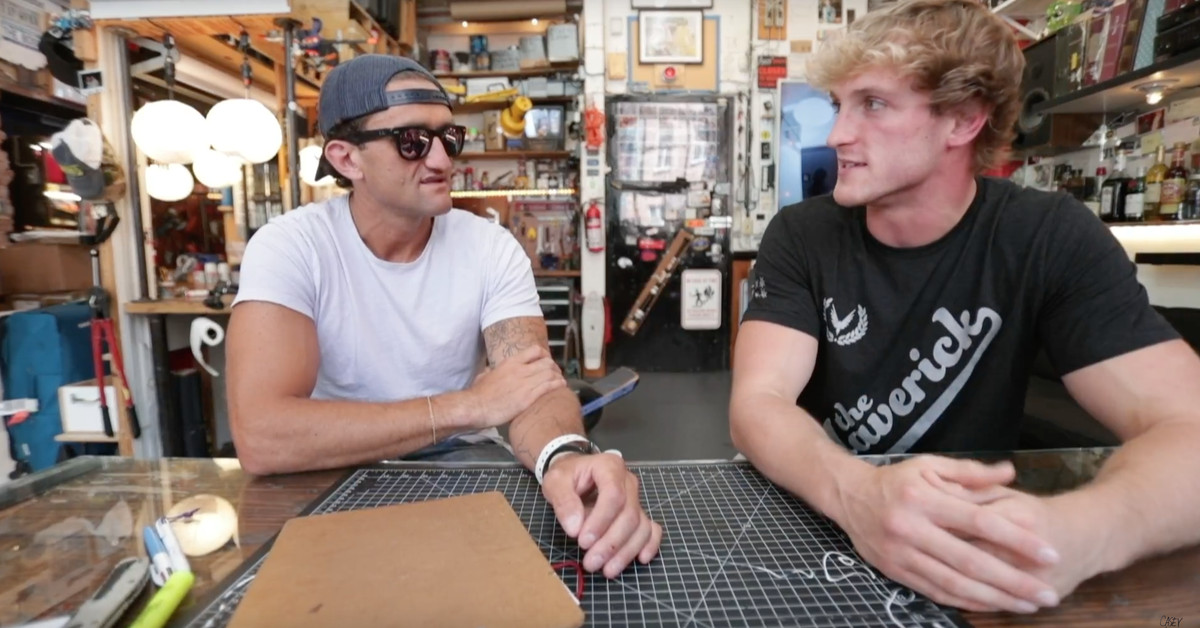 Casey Neistat interviews Logan Paul about 'comeback' documentary