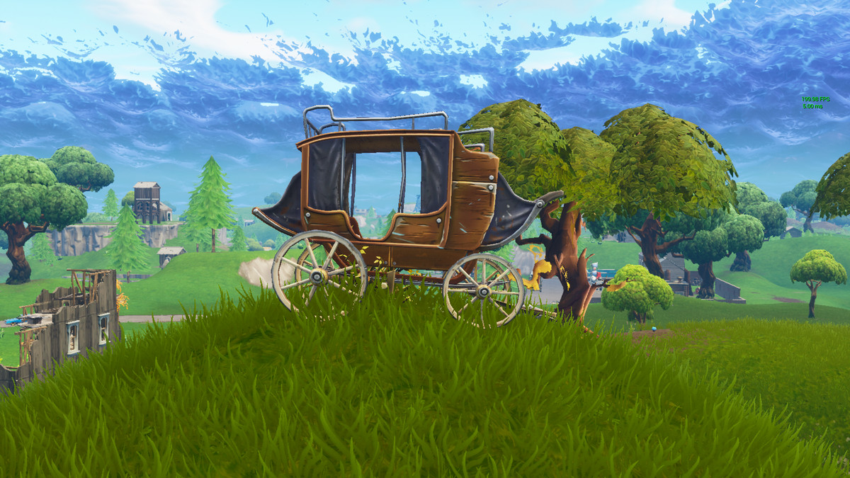 Fortnite - old-school carriage