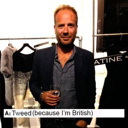 Richard Gray, Co-Founder of Osloh Jeans