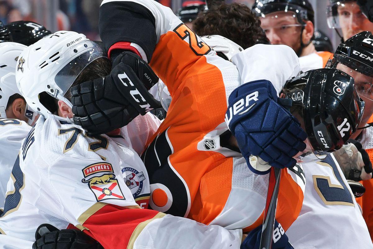 Florida Panthers v Philadelphia Flyers