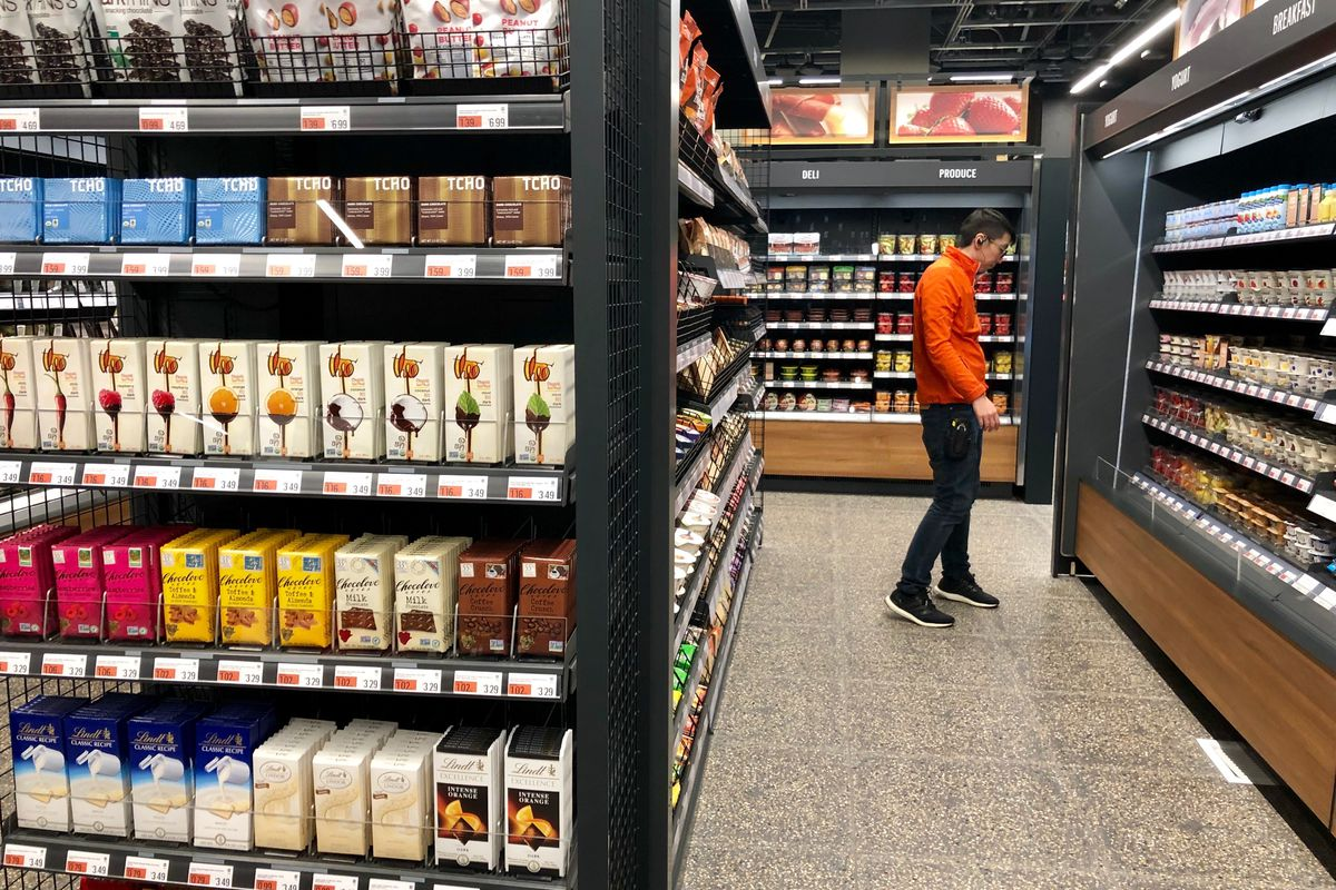 Second Amazon Go Store Opens In San Francisco Curbed Sf