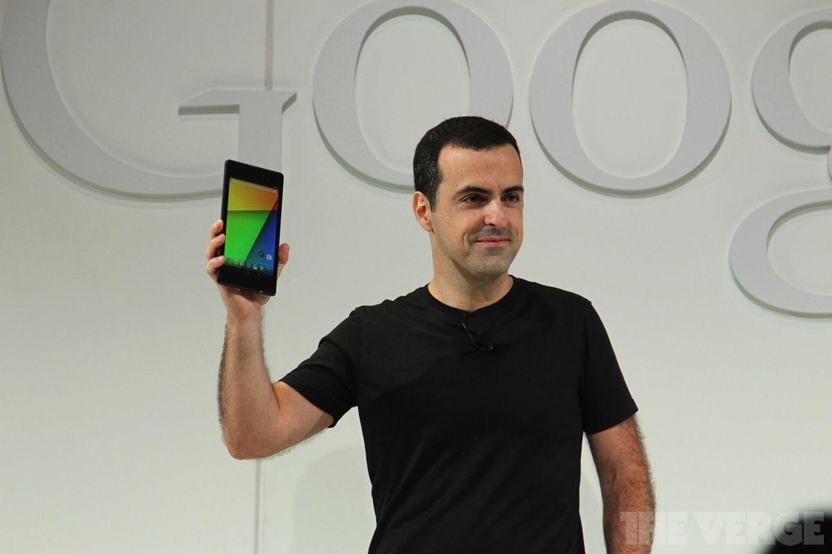 Google Hugo Barra Nexus 7 stock 1020