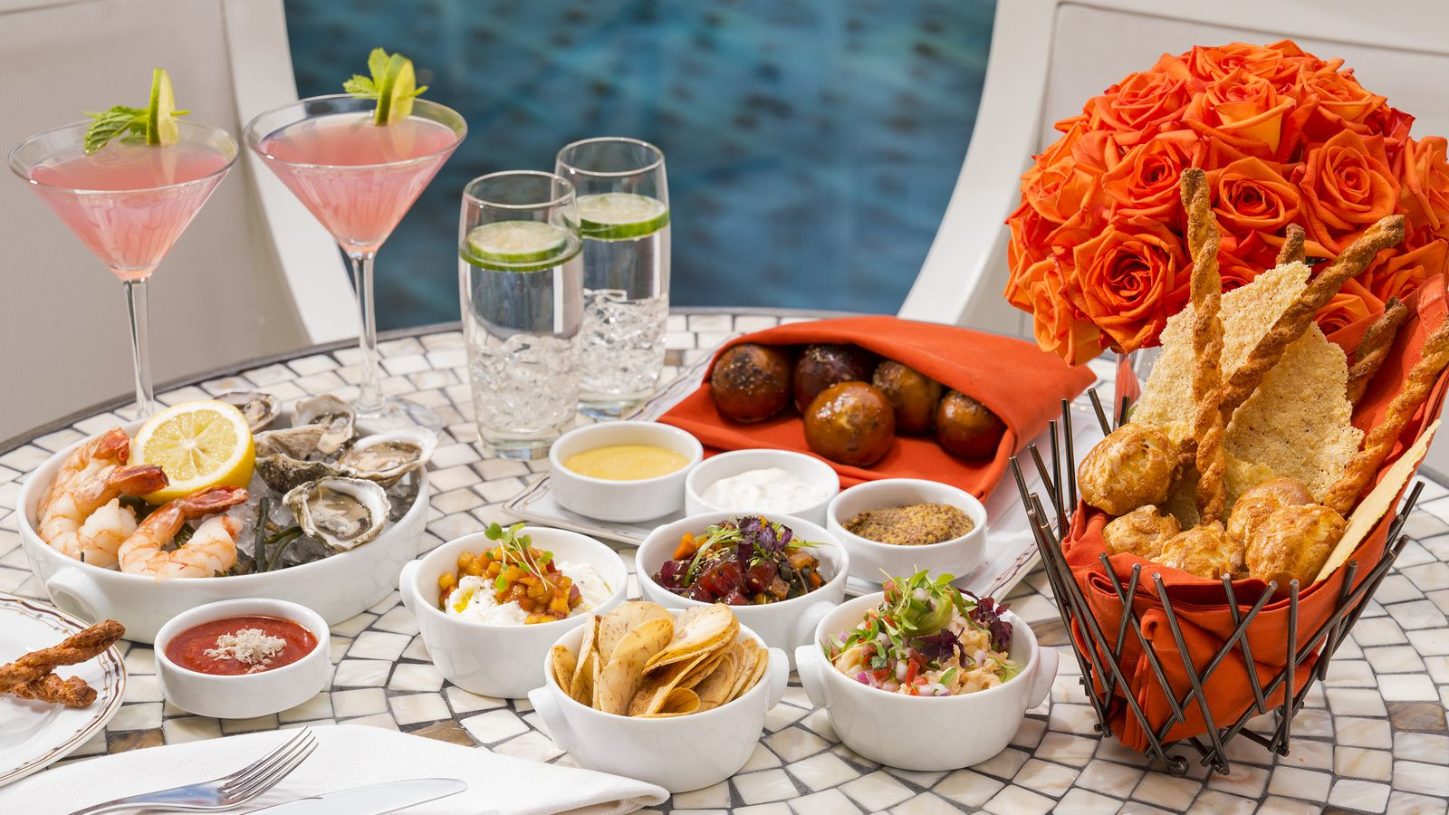 Surprise wynn now has the terrace lounge eater vegas for The terrace lounge menu
