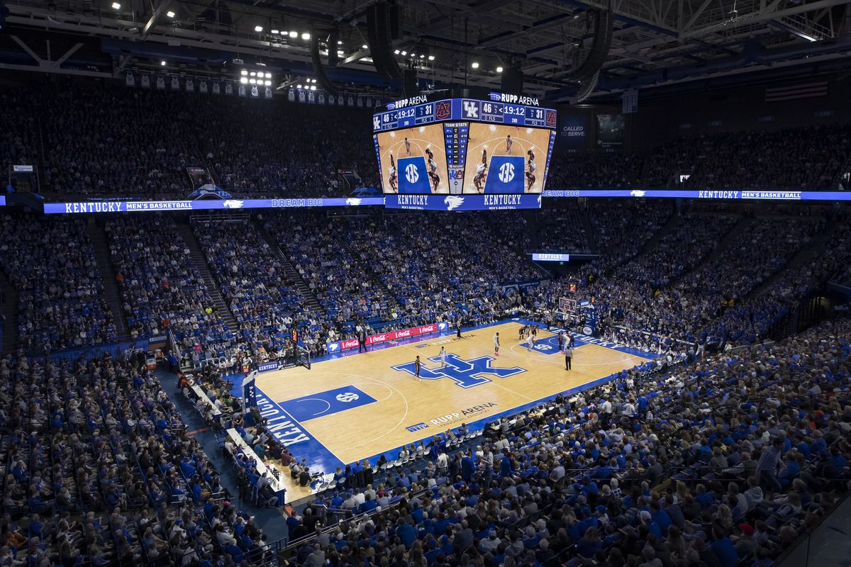 Kentucky Basketball Update On Uk S Plans For Winter Sports Indoor Fan Capacity A Sea Of Blue