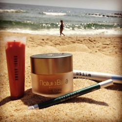 I'm heading to the shore—Ocean Grove, NJ to be exact—to spend some time with my family. We have been spending our summers there for 28 years! When I head to the beach for a few days, I pack only the necessary make-up, which for me are <b>Natura Bisse</b>