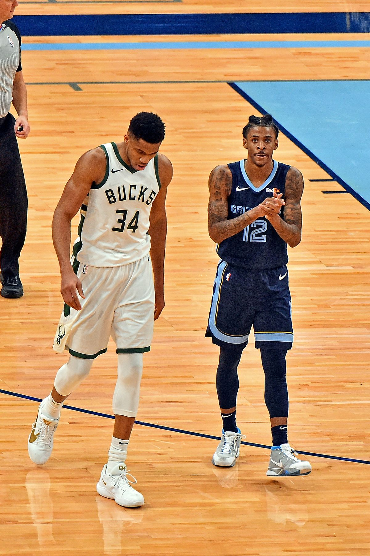Milwaukee Bucks v Memphis Grizzlies