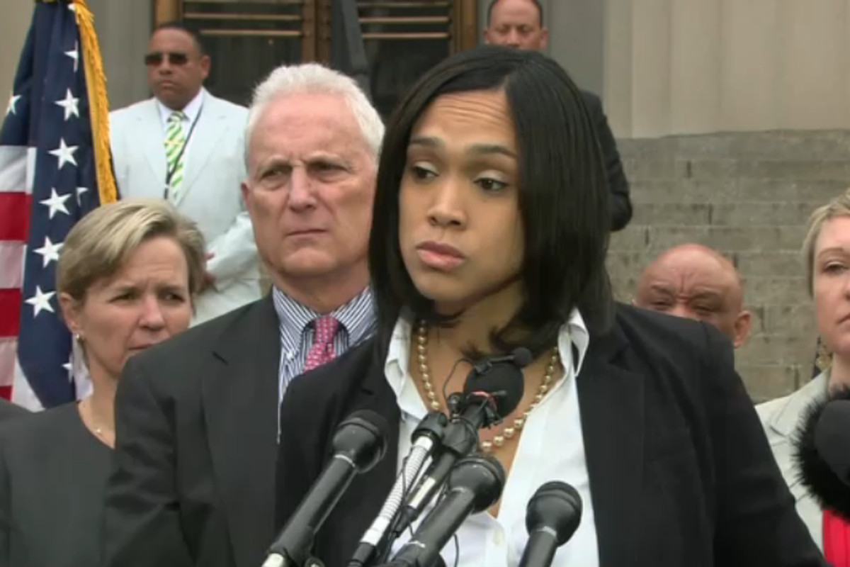 Baltimore City State's Attorney Marilyn Mosby.