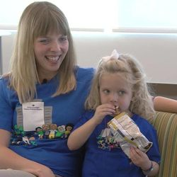 Becky and Mona Cope will be at Primary Children's Hospital Wednesday for transplant surgery. Becky Cope is giving part of her liver to her daughter who suffers from biliary atresia. It's a liver disease where the bile duct didn't properly form, and her liver can't drain bile.