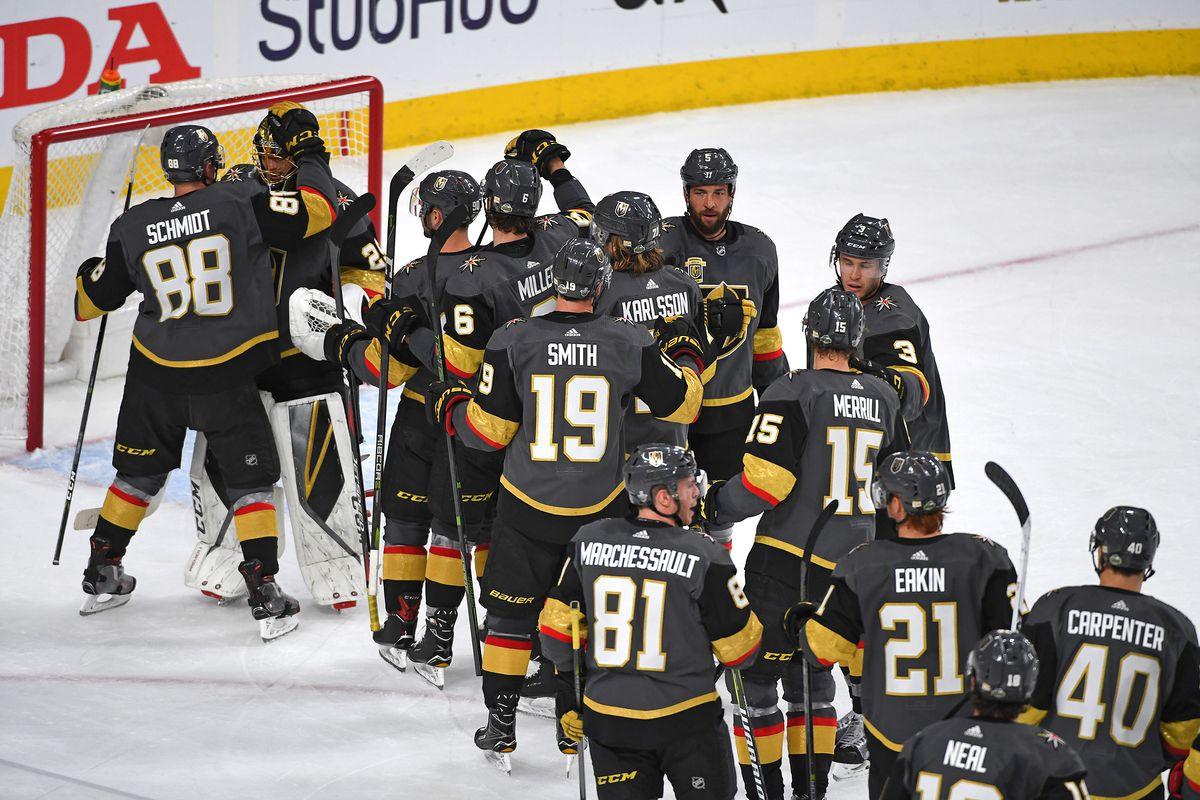 super popular 7770a 1b088 Golden Knights take Game 1 against Kings, 1-0 - Knights On Ice