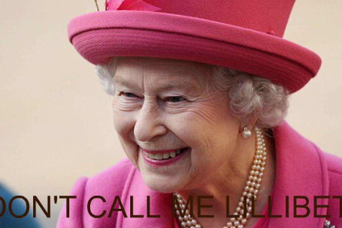 Queen Elizabeth II, via Getty
