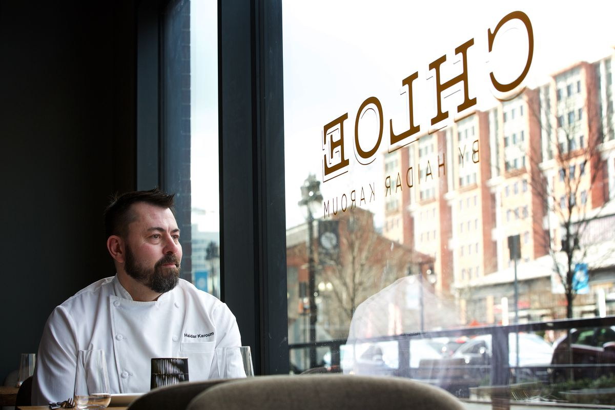 Chloe chef-owner Haidar Karoum has created a brunch menu full of $10 to $15 to attract diners to his eclectic Navy Yard restaurant