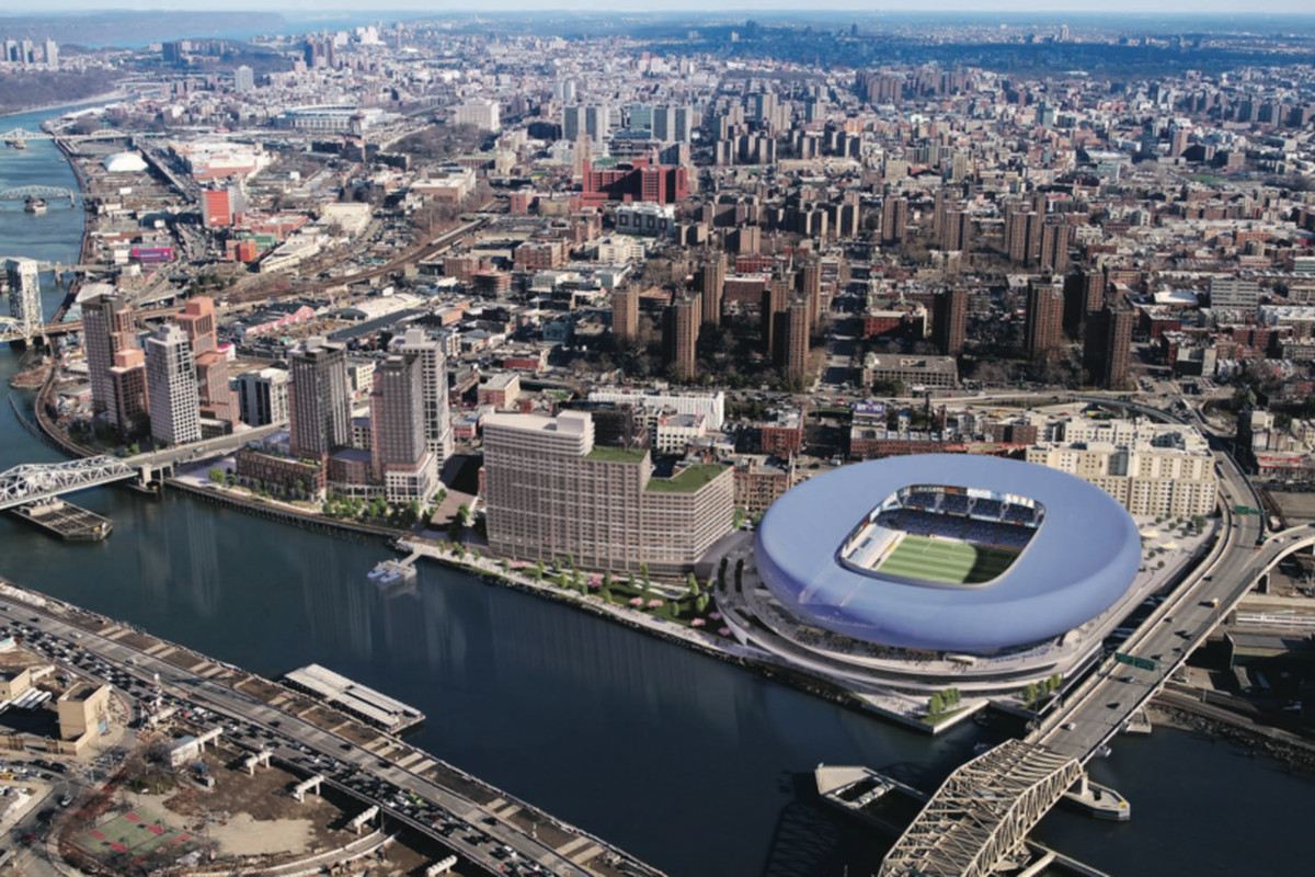 Madison Square Garden: NYC's First Soccer Stadium May Rise In The South Bronx