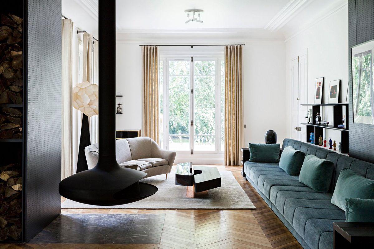 Gorgeous Paris renovation strikes balance between elegant and ...