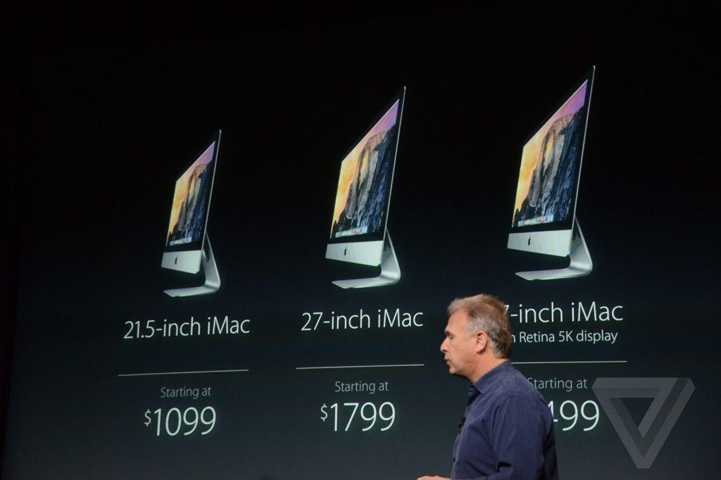 iMac comparison