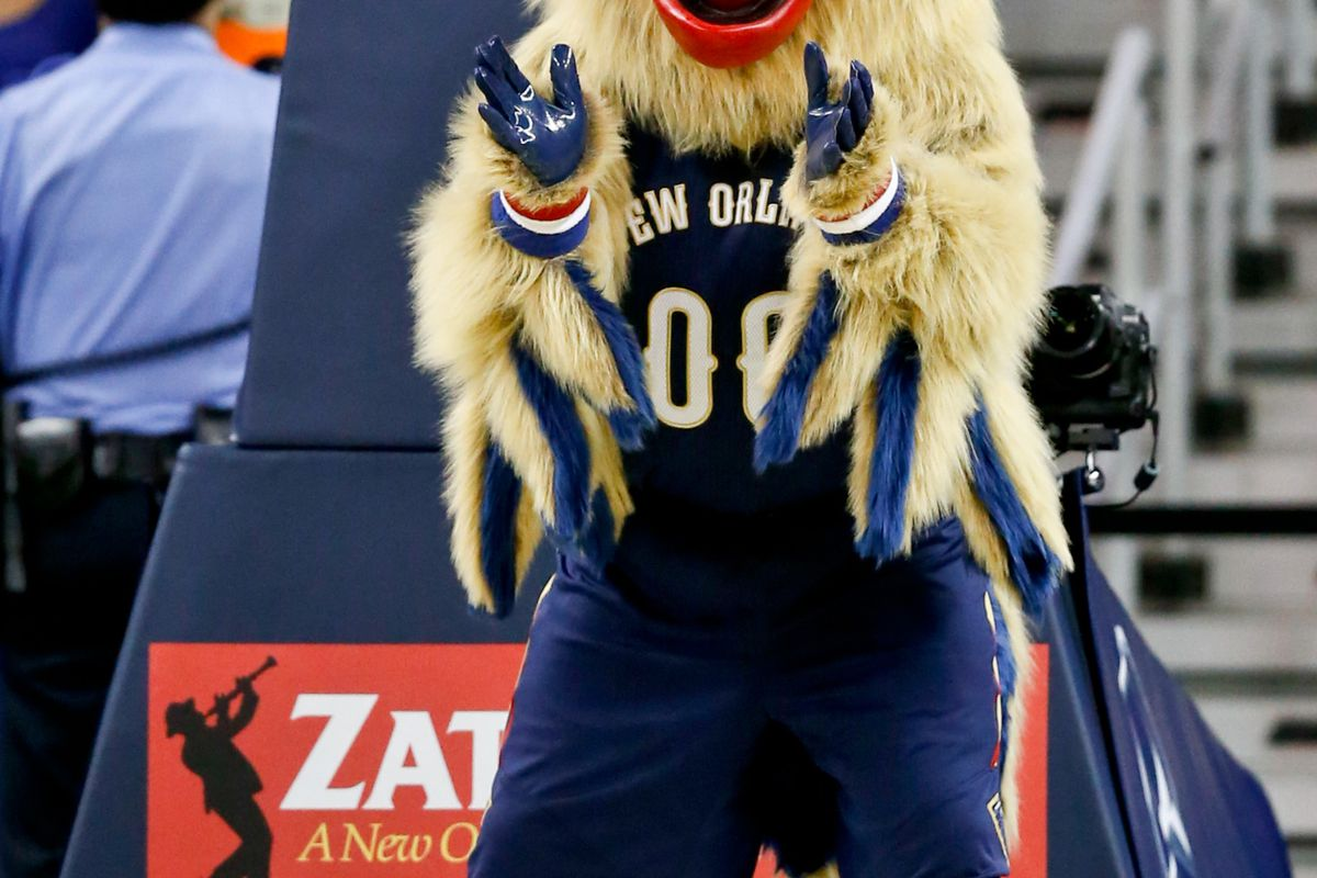 That is a ridiculous mascot.