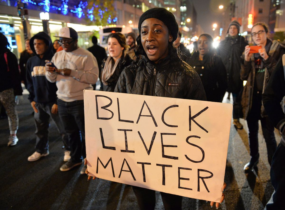 A Black Lives Matter march in Washington, DC.