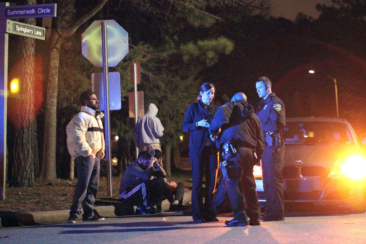 Chapel Hill police investigate the murder of three young Muslims.