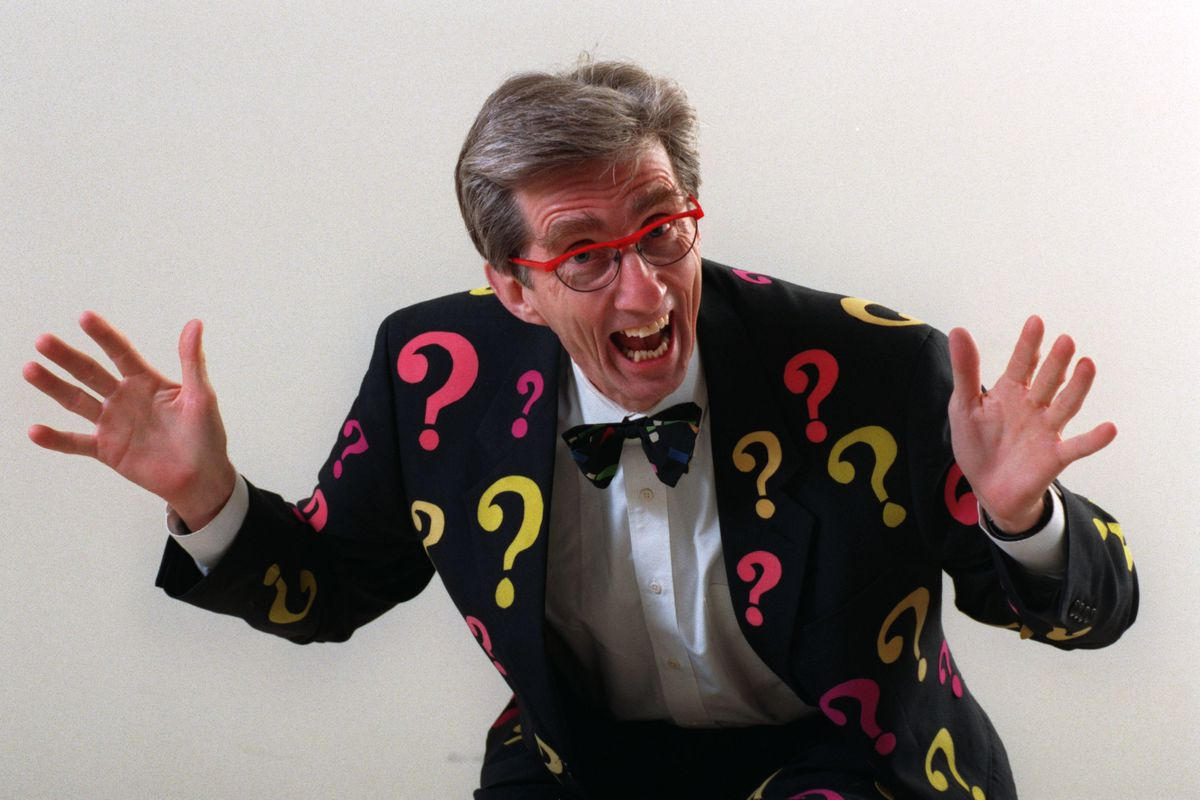 matthew lesko Matthew Lesko, who has written a book called ``Free Stuff for Seniors. he's a colorful man who was described in an interview as `the uninhibited man in the crayoncolored suit.'' highlyanimated guy.(Photo by CHARLES BJORGEN/Star Tribune via