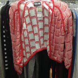 Vena Cava loose knit cardigan, $109 (was $350)