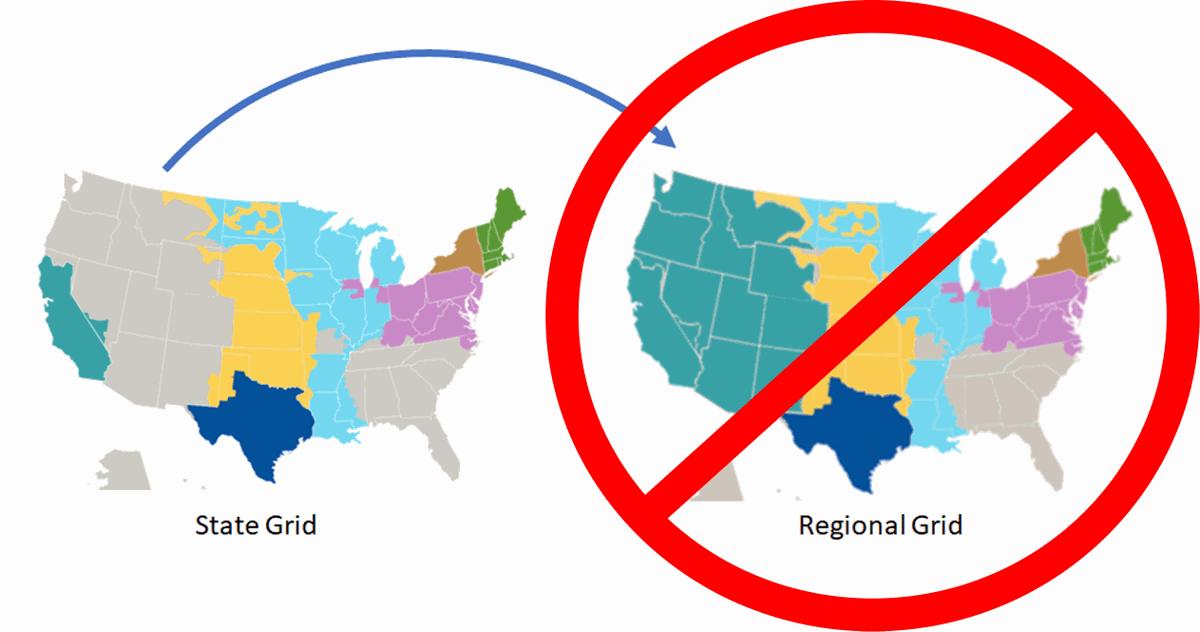 anti-regional grid