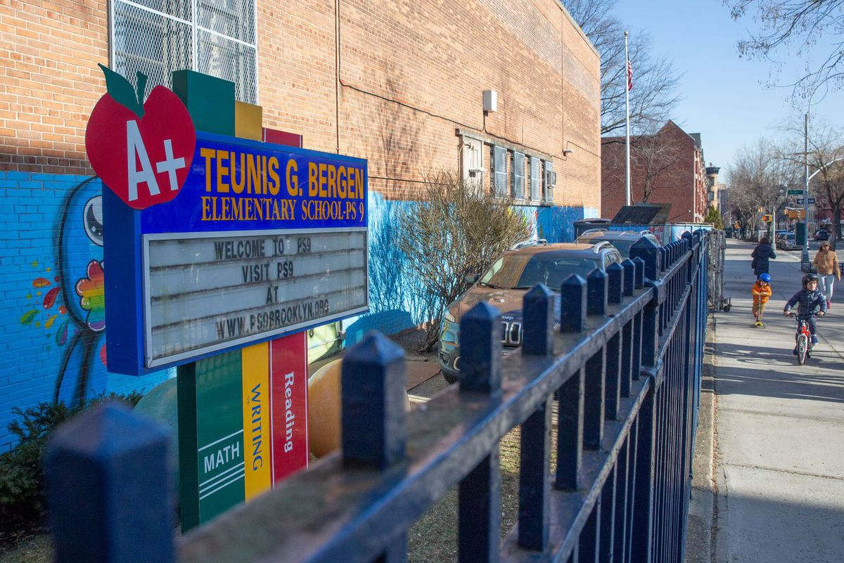 A group of parents have been advocating to change the name of a Prospect Heights, Brooklyn school from Teunis G Bergen, who they say promoted racist policies, to be named after Sarah Smith Tompkins Garnet, who was New York City's first African American principal in a public school., March 28, 2019.