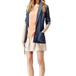 "<a href=""http://www.reissonline.com/us/shop/womens/womens_sale/coats_and_jackets/lennie/washed_blue/"">Lennie</a>, $226.80 (was $360)"