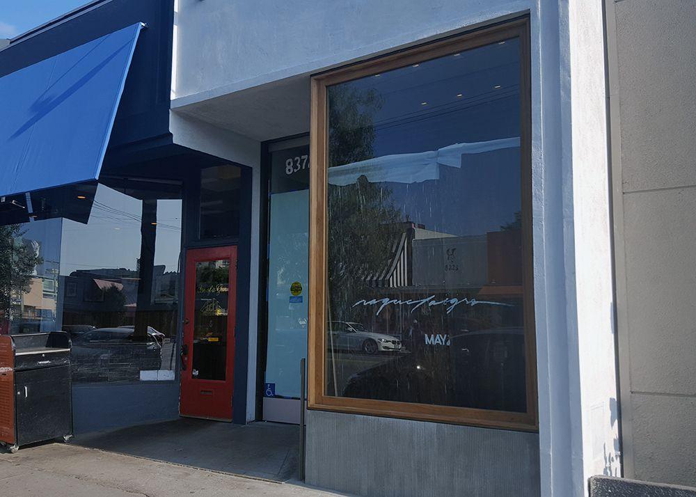 Raquel Allegra Storefront on West Third Street,