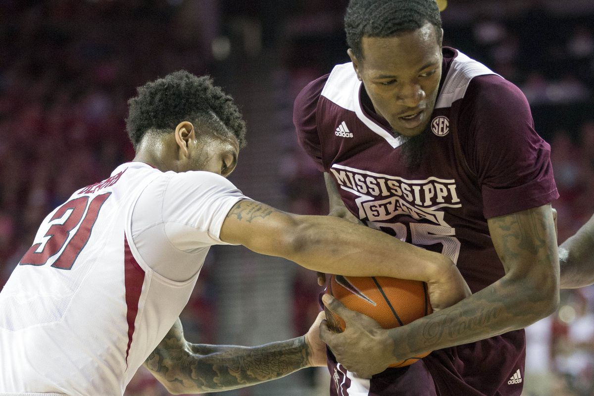 Anton Beard's steal was one of Mississippi State's 24 turnovers.