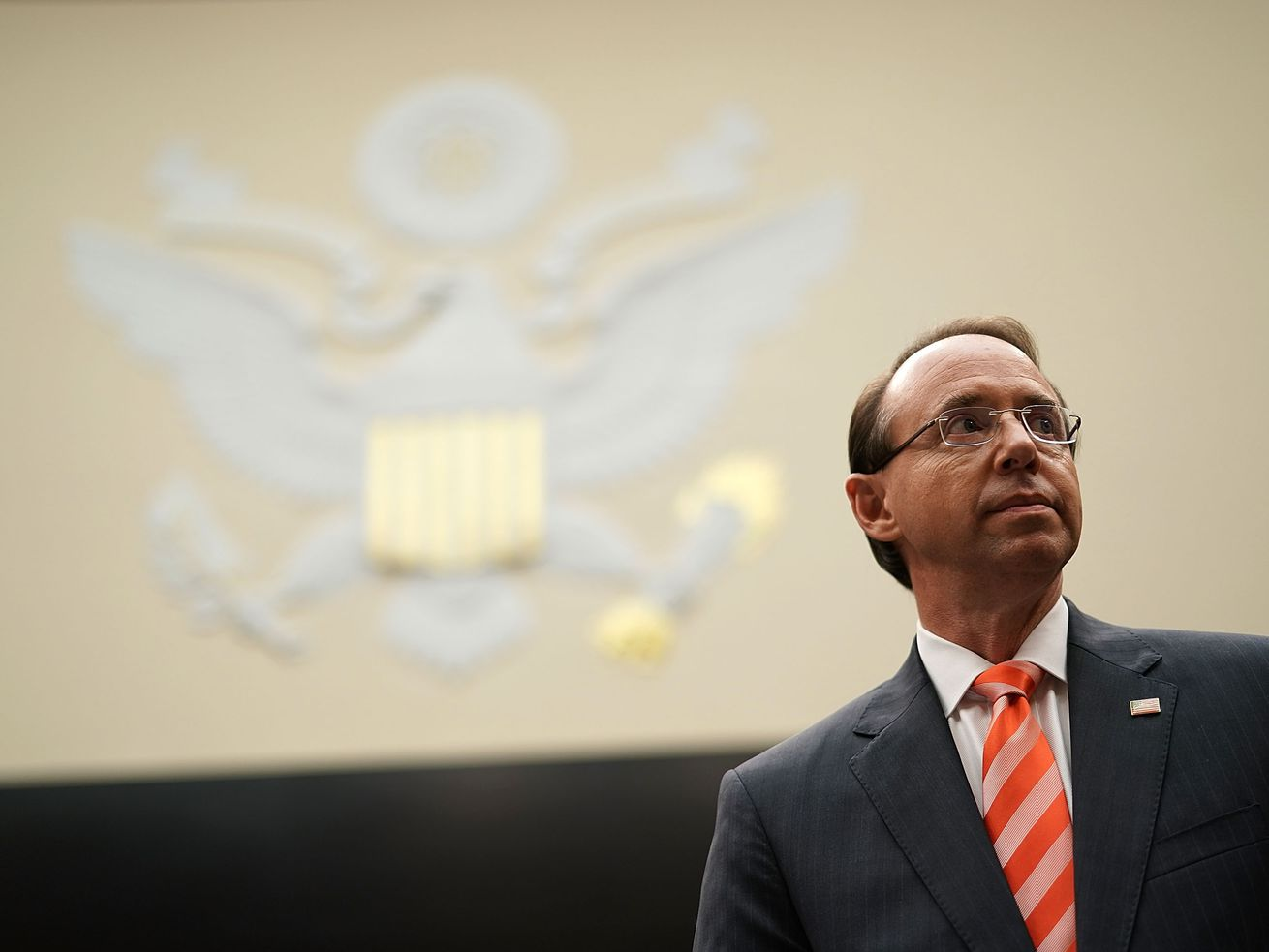 Deputy Attorney General Rod Rosenstein announced the new charges