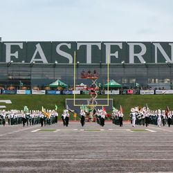 The Band takes the field