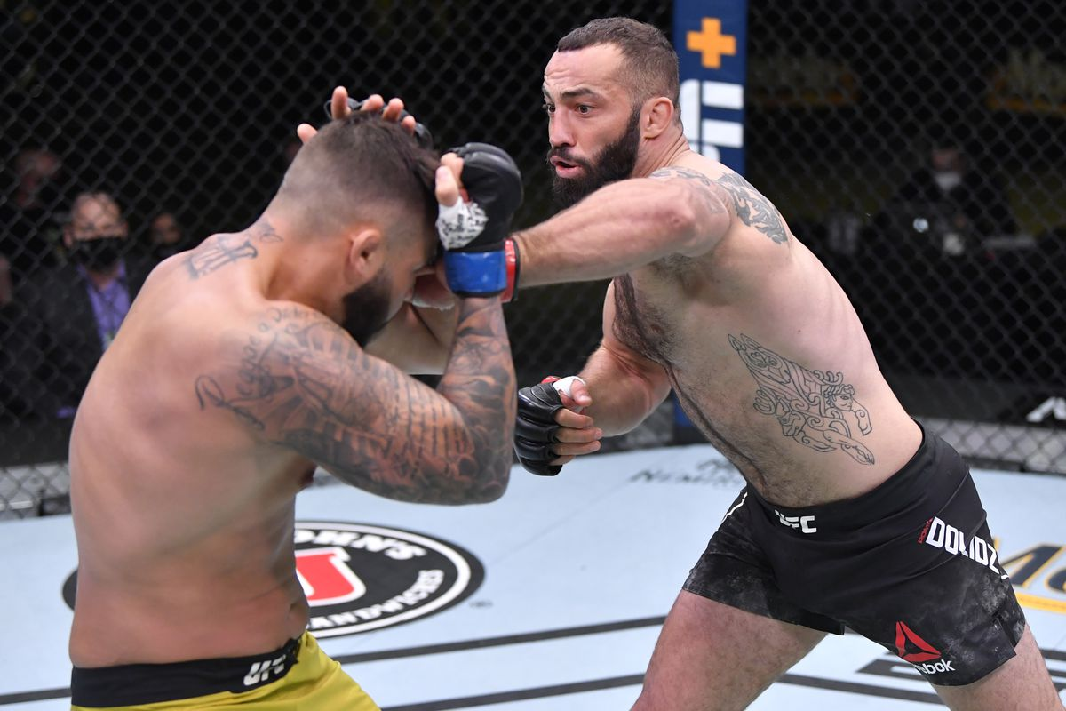 UFC Vegas 16 results: Roman Dolidze remains undefeated with split decision  over John Allan - MMA Fighting